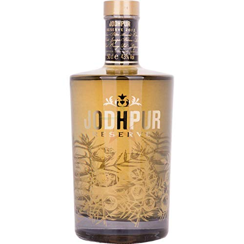 Jodhpur Reserve London Dry Gin 43,00% 0,50 Liter