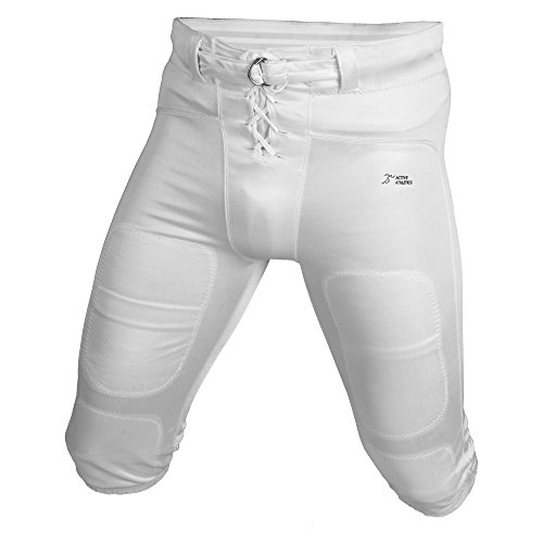 Active Athletics Shiny Speedo Practice Pants - weiß Gr. M