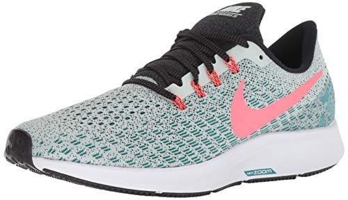 Nike Air Zoom Pegasus 35, Scarpe da Corsa Uomo, Multicolore (Barely Grey/Hot Punch/Geode Teal/Black 009), 40.5 EU