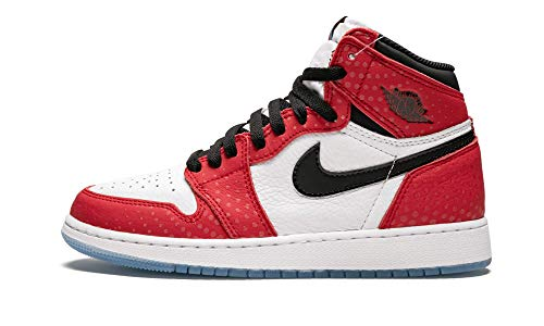 Nike Herren Air Jordan 1 Retro High Og Gs Fitnessschuhe, Mehrfarbig (Gym Red/Black/White/Photo Blue 602), 36 EU
