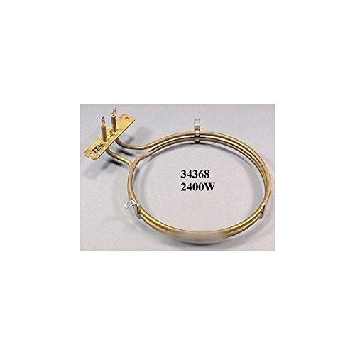 Hotpoint–Ariston–Resistance de horno Circular 2400W para horno Ariston