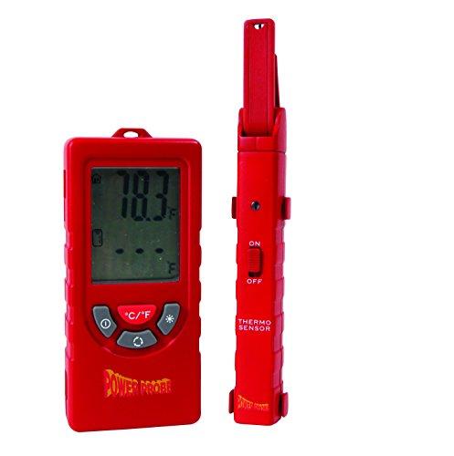 Power Probe Kit de sonda de temperatura (TEMPKIT) [Termómetro digital de doble zona, lecturas de temperatura inalámbricas, accesorio adicional de sonda inalámbrica]