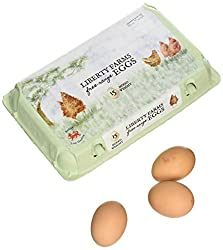Liberty Farm Mixed Weight Free Range Eggs, 15 pack