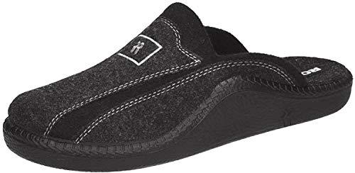 Romika Herren Mokasso 246 Pantoffeln, Grau (Anthrazit 700), 43 EU