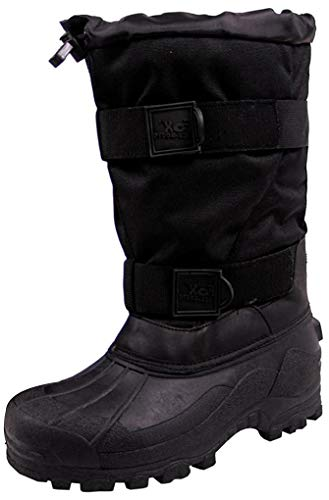 FoxOutdoor Kälteschutzstiefel, Fox 40 C, schwarz warme wasserdichte Winter-Stiefel - 44