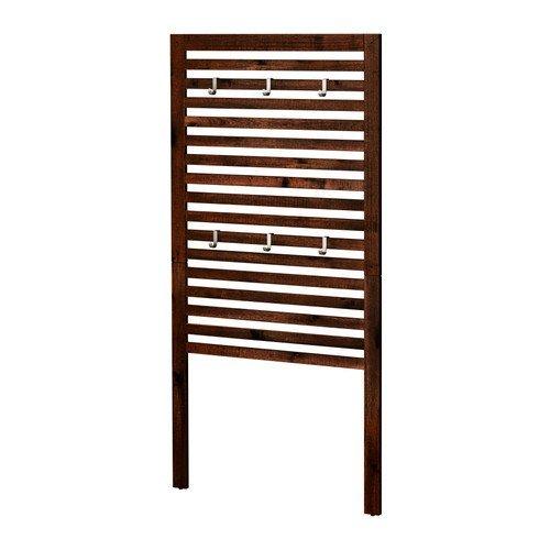 Ikea Pannello da parete, da esterno, marrone macchiato marrone 1826.21429.1030