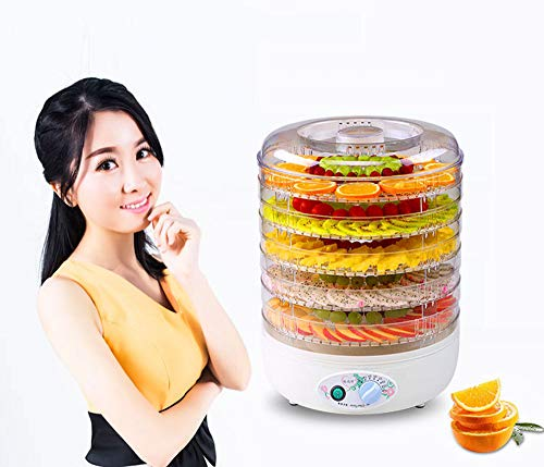 Fantastic Prices! Food dehydrator 5 tray with automatic power off function, 360° air circulation, f...