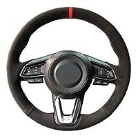 マツダ3アクセラ201720196アテンザ20172019 CX 3 CX 4 CX 5 CX 9 CX9 CX8カーステアリングホイールカバー用