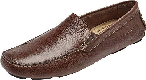 Rockport Men's Rhyder Venetian Loafer, Mahogany,7 M US