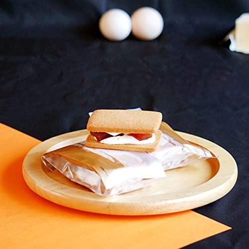 わらいみらい バターサンド クッキー ビスケット サンド 干し柿 スイーツ ギフト (干し柿)