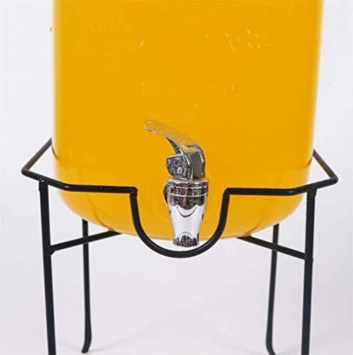 Tebery Dispensador de Bebidas metálicas 5 L / 8 L – Negro