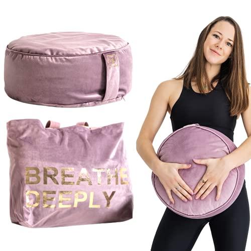 Yoke Wellness Yoga Cushion Meditation – Zafu Cushion, Meditation Cushions for...