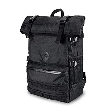 Skunk Backpack Rogue - Smell Proof - Water Proof - Lockable - Hydroponics  Black