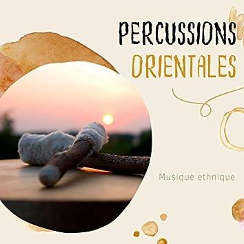 Percussions orientales: Musique ethnique, rythme indien avec percussions traditionnelles
