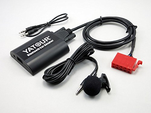 Mercedes Benz Auto Bluetooth-Adapter, Digital Auto Stereo Aux Adapter Hände frei Call mit USB Lade-& 3,5 mm Audio MusiK Eingang für Benz B C CL CLS E S SL SLK SLS Klasse W203 W202 1994-1998 (bta-mb)
