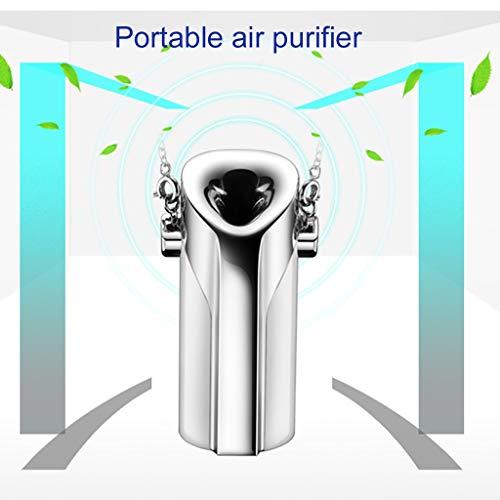 SIRIGOGO Filtro de purificador de aire de espuma de espuma de segunda mano de iones negativos para cuello