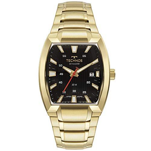 Relógio Technos Masculino Skymaster Dourado 2117LCO1P