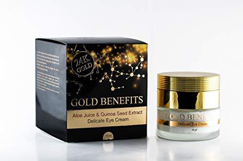 La nutritiva crema de noche con beneficios de oro, rica en