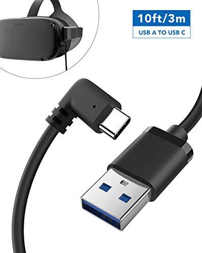 KIWI Design Oculus Quest Link-Kabel USB C 10 FT (3M), Hochgeschwindigkeits-Datenübertragungskabel
