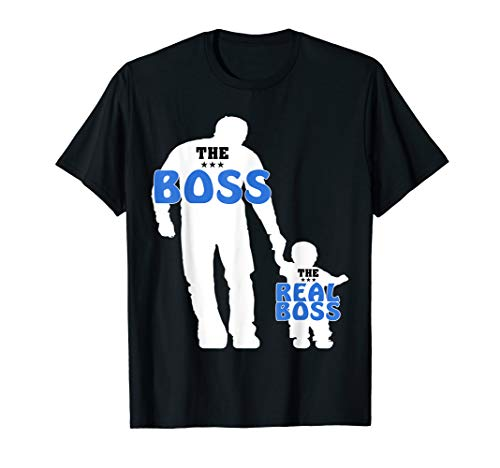 Vater und Sohn Lustiges Partner Look T-Shirt