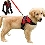 Dog Harness No Pull Adjustable Puppy Vest Harness Small Dog Mesh Breathable Soft