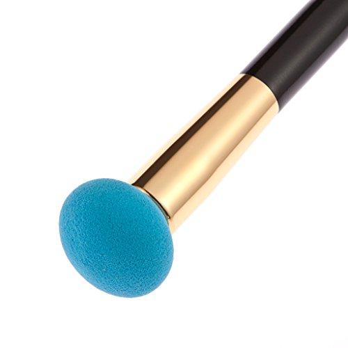 Injoyo 15 Couleurs Contour Maquillage Palette Crème Poudre Fondation Concealer Brush Kit Set - houppe à poudre champignon