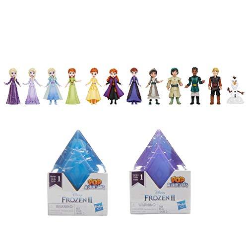Disney Die Eiskönigin 2 Pop-Up Abenteuer Überraschungsbox mit kristallförmiger Packung und einem beliebten Eiskönigin Charakter, Spielzeug für Kinder ab 3 Jahren