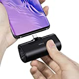 iWALK USB C Power Bank, 4500mAh Portable Charger USB C Battery Pack, Compatible with Samsung Galaxy S10,S9,S8,Note 10/9/8,Moto Z3/2,LG V35/G8/7/5, Switch,Google Pixel 4/3/2XL, Android Phones, black
