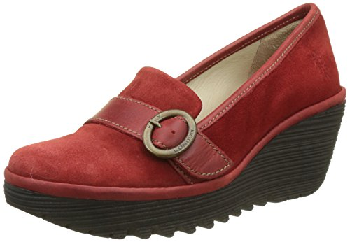 Fly London Damen Yond771fly Pumps, Rot (Red), 36 EU