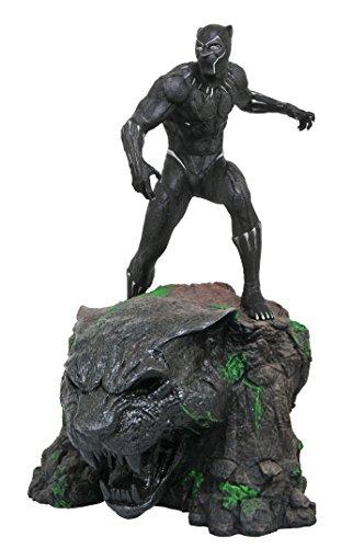 DIAMOND SELECT TOYS Marvel Milestones: Black Panther Movie Resin Statue