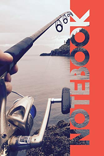 Notebook: Rod and Reel Handy Composition Book for Kayak Fishing