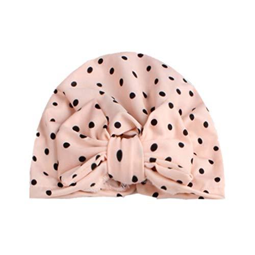 Gyratedream Baby Mütze Neugeborene Floral Indian Turban Knoten Stirnband Hüte Caps Elastcic Kopf Wickelt für 0-3 Jahre Unisex Kind