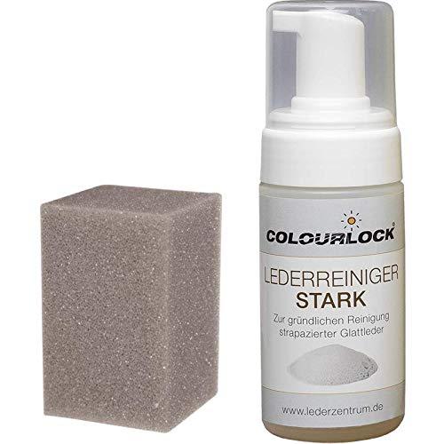 COLOURLOCK - Limpiador para cuero (fuerte, 125 ml, formato dispensador de espuma)