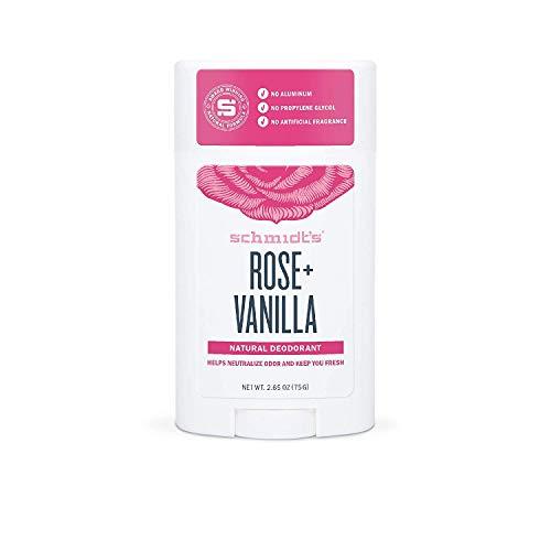 Schmidt's Deodorant Stick Rose und Vanilla, 75 g