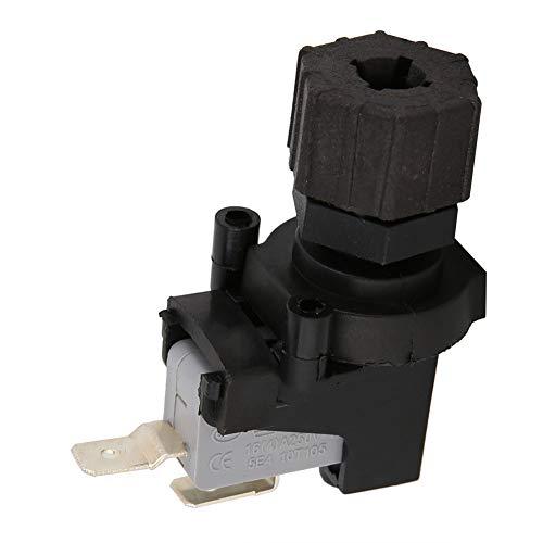 LANTRO JS - Microinterruptor, interruptor de presión de aire diferencial ajustable Microinterruptor de presión 125-250V, interruptor neumático para triturador de desperdicios de comida y bañera
