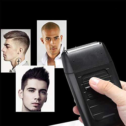 Shaver JFW-Rechargeable Rasoir Barbeador pour Hommes, Rasoir électrique à Double réseau Alternatif