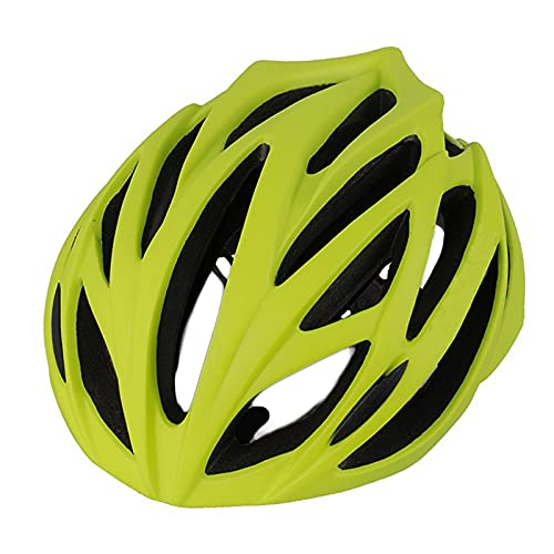 G&F Cascos Ciclismo MTB Adulto por Mujeres y Hombres Casco Bicicleta Montaña Ajustable Ligero 54-62cm (Color : Green, Size : 54-62)
