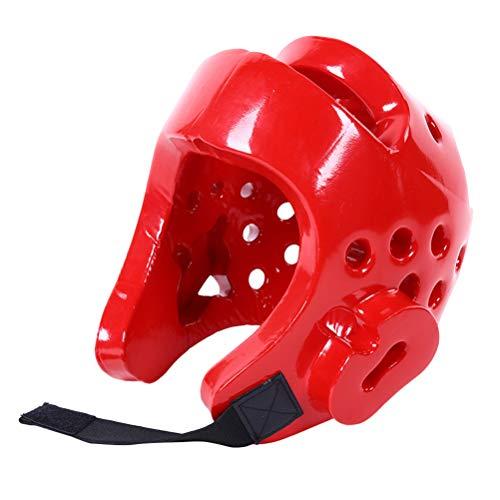 Azul//Rojo Haodene Cascos De Boxeo Karate Protector De Cabeza Casco Integrado Accesorio De Boxeo Artes Marciales Adulto Ni/ños