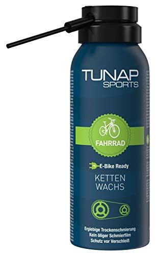 TUNAP SPORTS Kettenwachs | Fahrrad-Trockenschmierung Spray für die Kette auf Wax-Basis | für MTB, Rennrad etc.