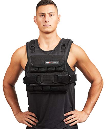 miR Adjustable Weighted Vest, 40 lb
