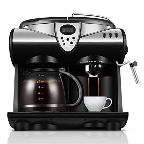 Perfecta taza de café De consumo y comerciales de vapor automático de la leche de la máquina de café de estilo italiano de una sola pieza de la máquina de café