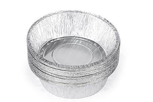Replace parts 20-Pack 10-Inch Aluminum Dutch Oven Liner Pans Cake Pan and Extra Deep Aluminum Foil Pans for Baking and Camping