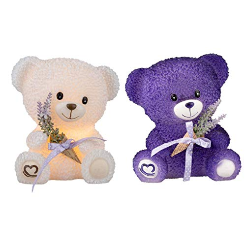 2 CT Flameless Real Wax LED Bear Candle Romantic Gift Set $21.50 (REG $35.99)
