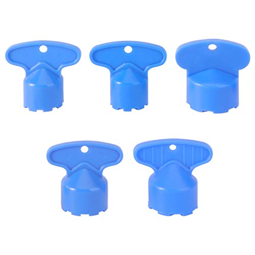 DOITOOL 5 unids herramienta de eliminación de aireador de grifo ABS parte de la base DIY instalar grifo aireador llave llave aireador para cocina baño hogar (M 16.5, 18.5, 21.5, 22.5, 24)
