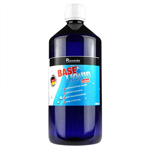 Riccardo Basisliquid Balance, 50% PG/50% VG, Base Liquid 0,0 mg Nikotin, 1000 ml