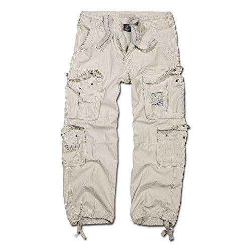 Brandit Hose Pure Vintage Trouser Old White Größe 3XL