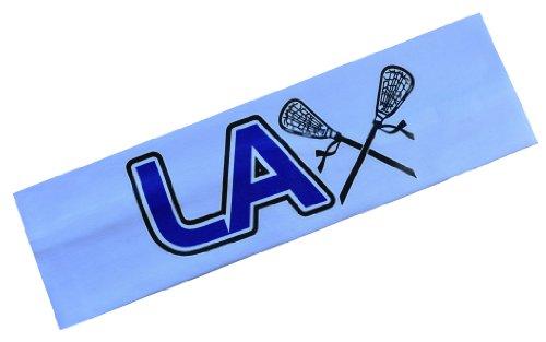 Funny Girl Designs LAX Headband Cotton Stretch Lacrosse Headband...