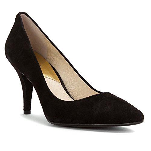Zapatos Mujer Salones Peep_Toes Michael Kors MK-Flex Mid PUM Negro 36I5
