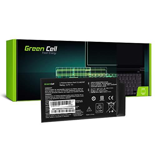 Green Cell (3.7V 15Wh 4000mAh) C11-ME370T Batería para ASUS Google Nexus 7...