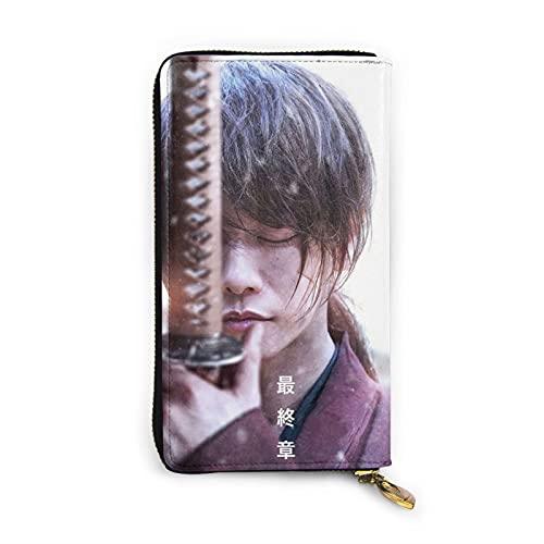 るろうに剣心 財布 長財布 ギフト大容量 ファスナーウォレット使いやすい メンズ レディース 贈り物 薄型 カードケース